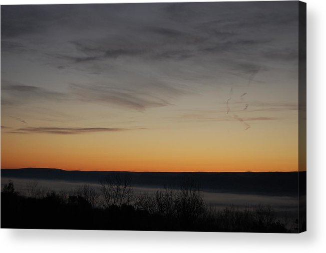 Sunrise Acrylic Print featuring the photograph Sun Rise Over Nippenose Valley by Richard Botts