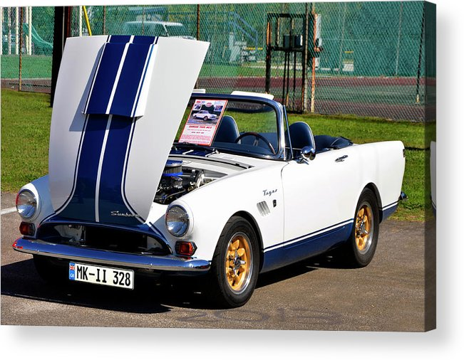 Sunbeam Acrylic Print featuring the photograph Sunbeam Tiger by Paul Mashburn