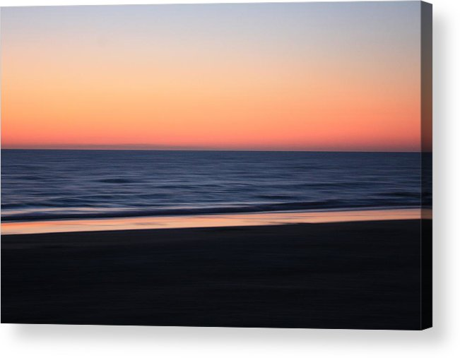 Beach Acrylic Print featuring the photograph Sundown At Indian Rocks Beach by Hans English