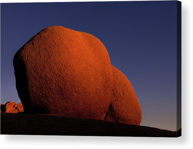 Joshua Tree National Park Acrylic Print featuring the photograph Sunkissed Revisited by TM Schultze