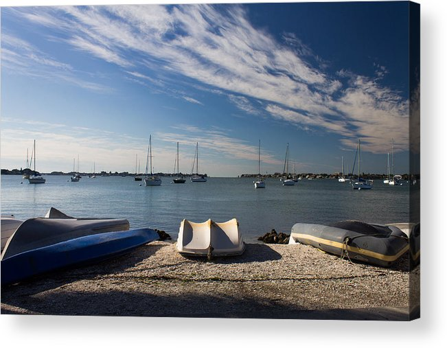 Marina Jacks Acrylic Print featuring the photograph Sunrise At The Bay by Michael Tesar