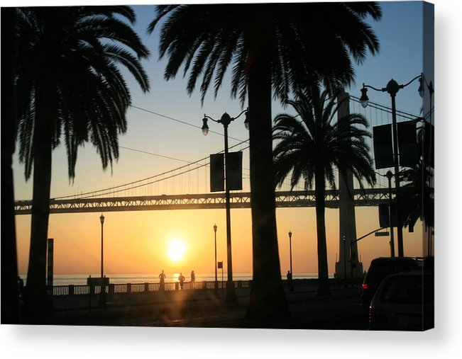 Morning Acrylic Print featuring the photograph Sunrise On The Bay by Joshua Sunday