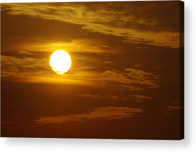 Sunset Acrylic Print featuring the photograph Sunset 2 by Don Prioleau