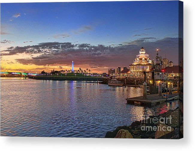 Landscape Photographs Acrylic Print featuring the photograph Sunset by Hartono Tai