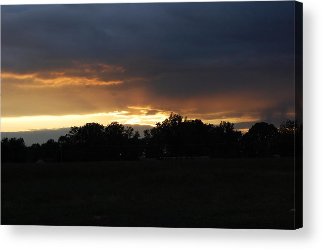 Sunset Acrylic Print featuring the photograph Sunset by Michelle Williams