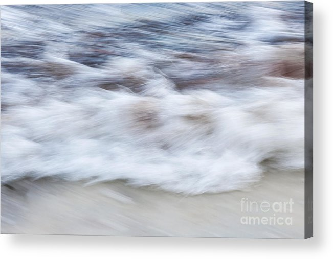 Wave Acrylic Print featuring the photograph Surf Abstract 2 by Elena Elisseeva