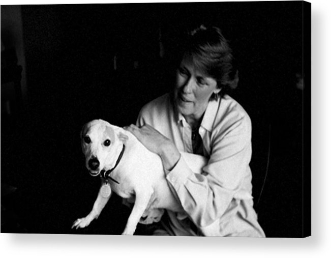 Mafia Acrylic Print featuring the photograph Survivor Kathey by John Toxey
