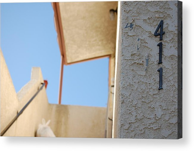 Architecture Acrylic Print featuring the photograph The 4-1-1 by William Lorton