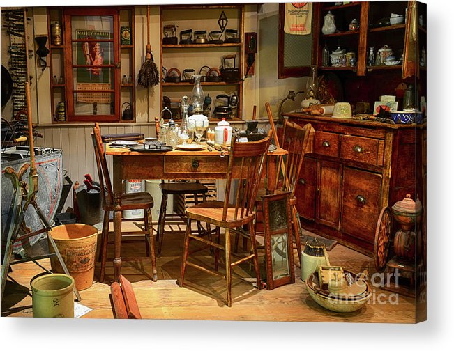 Kitchen Acrylic Print featuring the photograph The Art Of Aging 11 by Bob Christopher
