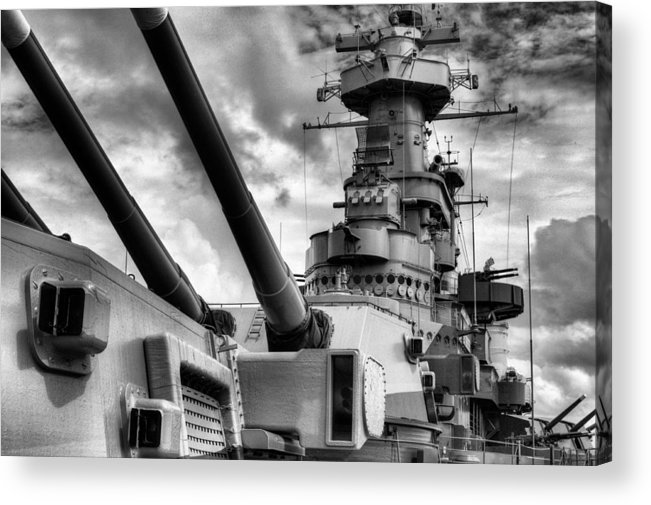 Wilmington North Carolina Acrylic Print featuring the photograph The Big Nc by JC Findley