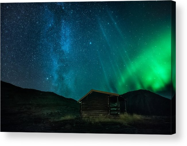 Cabin Acrylic Print featuring the photograph The Cabin by Tor-Ivar Naess