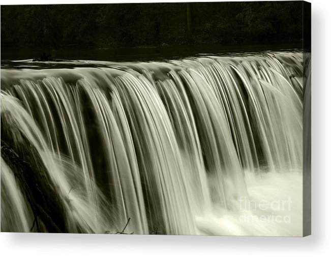Waterfalls Acrylic Print featuring the photograph The Falls by Timothy Johnson