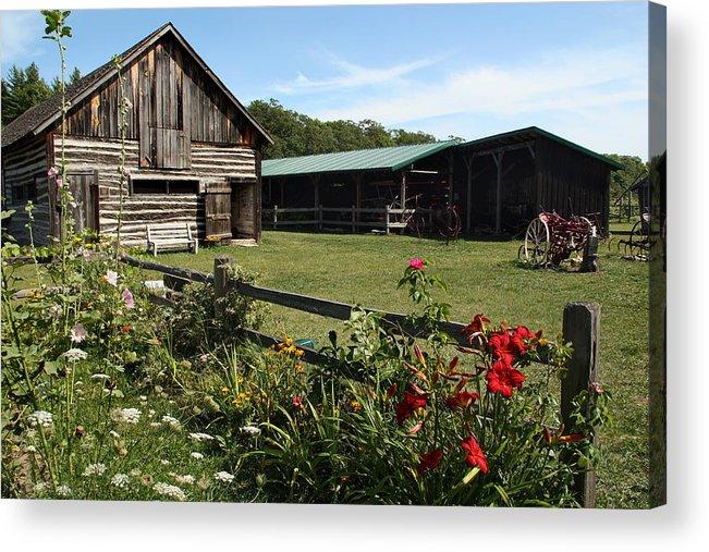Washington Island Farm Museum Acrylic Print featuring the photograph The Farm by Joanne Coyle