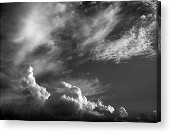 Clouds Acrylic Print featuring the photograph The Fine Art Of Clouds by Jim Darnall