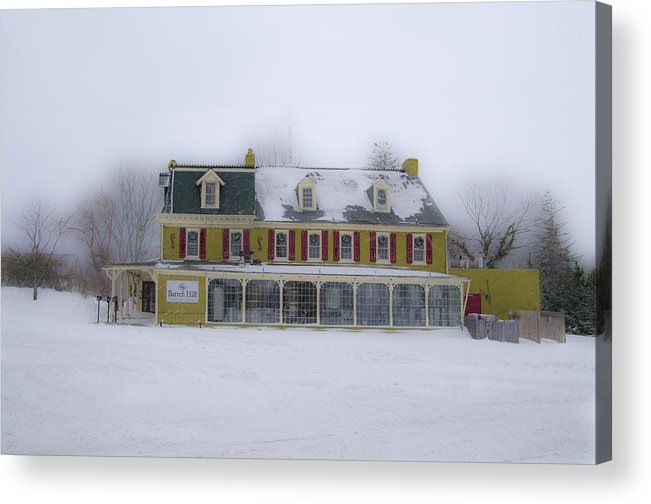 The Acrylic Print featuring the photograph The General Lafayette Inn - Barren Hill Brewery by Bill Cannon