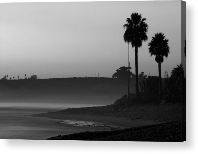 Landscape Acrylic Print featuring the photograph The Ghost Tide Of San Onofre by Brad Scott