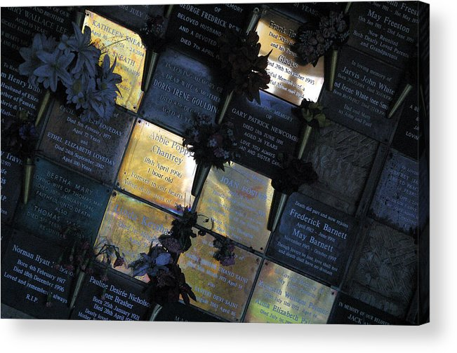 Photographer Acrylic Print featuring the photograph The Light Is Here by Jez C Self