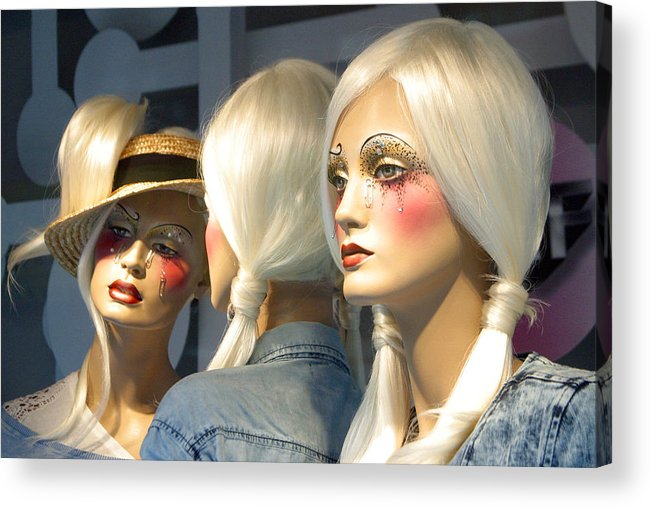 Photographer Acrylic Print featuring the photograph The Modern Girls by Jez C Self
