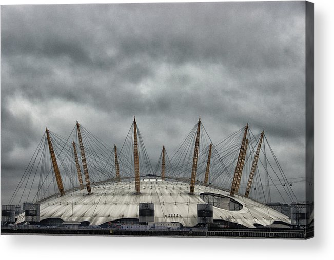 London Acrylic Print featuring the photograph The O2 Arena by Martin Newman