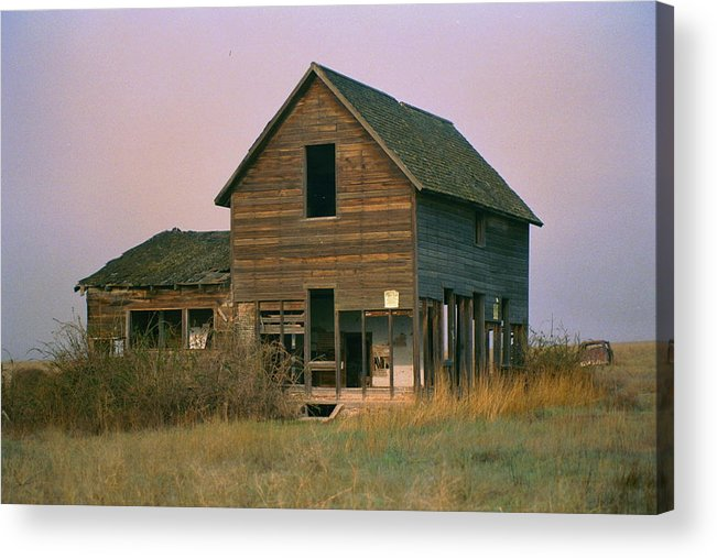 Old Acrylic Print featuring the photograph The Old Homestead by JoJo Photography