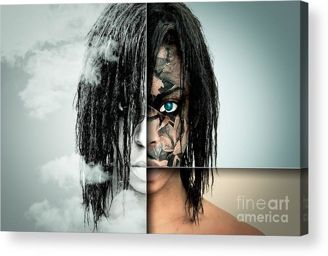 Acrylic Print featuring the photograph The Other Half Of Me by Ad Salaheddine
