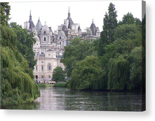 Landscape Acrylic Print featuring the photograph The Princess Castle by Chuck Shafer