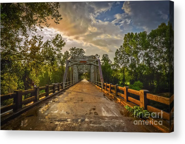 Mississippi Acrylic Print featuring the photograph The Road Less Traveled by T Lowry Wilson