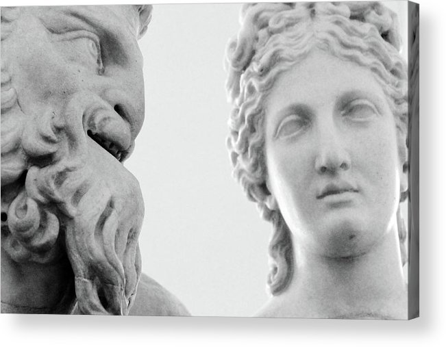 Rome Acrylic Print featuring the photograph The Smiling Devil by Munir Alawi