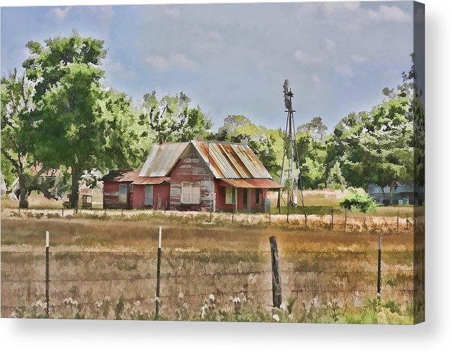 House Acrylic Print featuring the photograph The Sound Of Quiet by Douglas Barnard