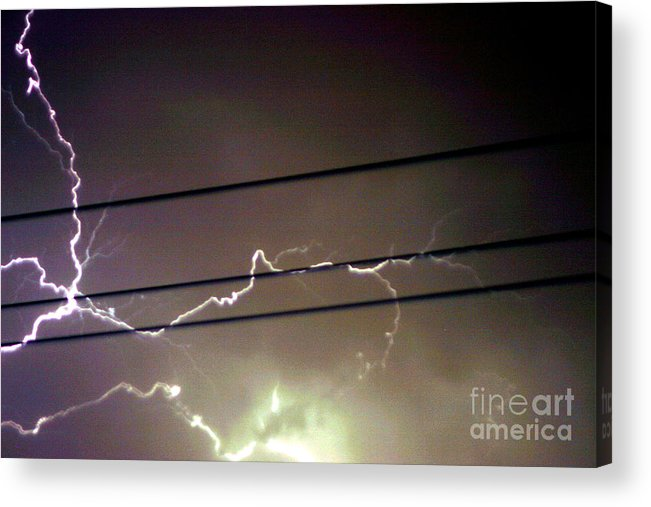Sky Acrylic Print featuring the photograph The Storm 1.4 by Joseph A Langley