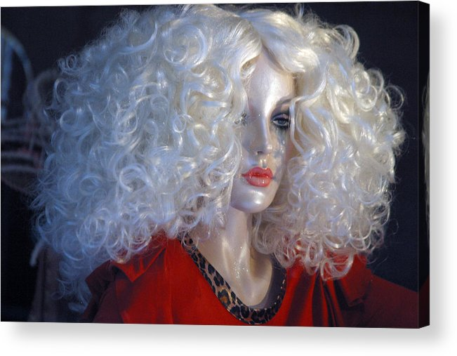 Jez C Self Acrylic Print featuring the photograph Thinking Of My Life by Jez C Self