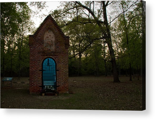 Acrylic Print featuring the photograph Thomas Sumter's Grave by Jason Rossi