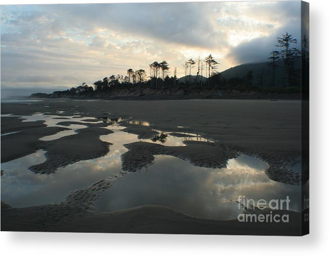 Oregon Acrylic Print featuring the photograph Tidepools At Dawn by Idaho Scenic Images Linda Lantzy