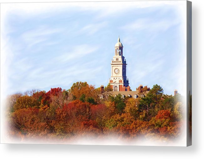 Autumn Acrylic Print featuring the photograph Time For Fall by Jim Darnall
