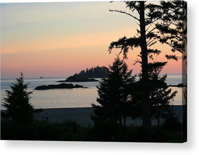 Sunset Acrylic Print featuring the photograph Tofino Sunset II Ss 1027 by Mary Gaines