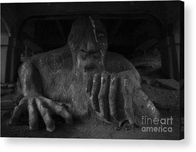 Aurora Acrylic Print featuring the photograph Troll Under Bridge by Jim Corwin