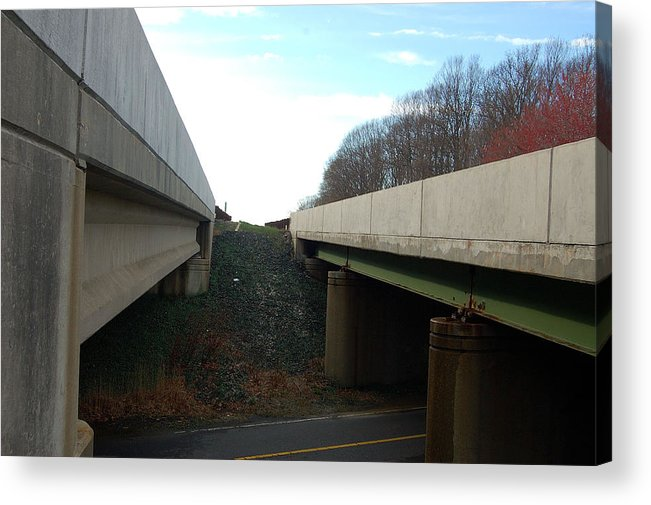 New Jersey Acrylic Print featuring the photograph Turnpike Perceptions by Heather S Huston