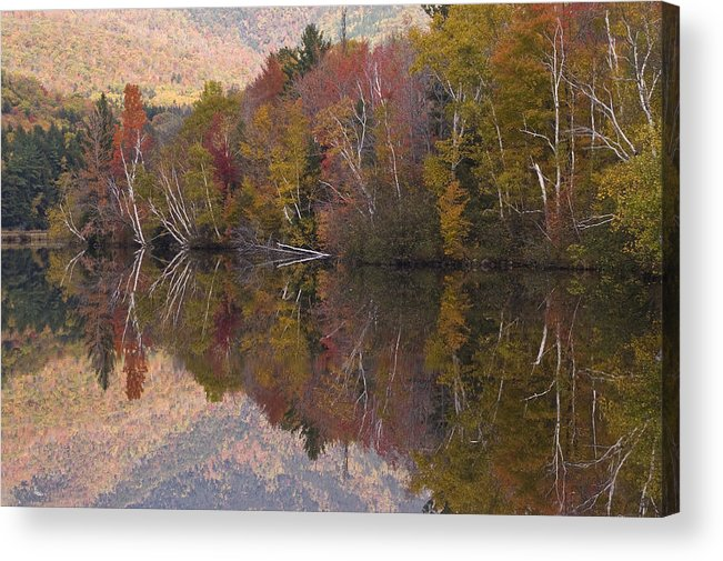 Maine Acrylic Print featuring the photograph Umbagog Lake by Henry Krauzyk
