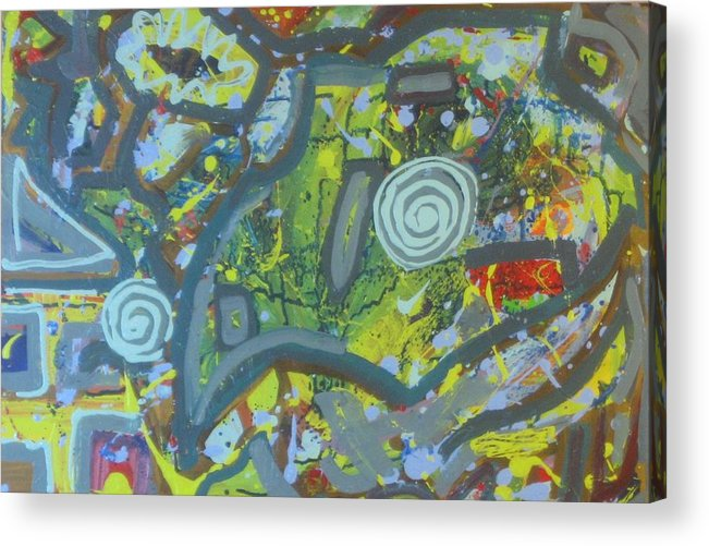 Paintings Acrylic Print featuring the painting Under Estimated by Bryan Zingmark