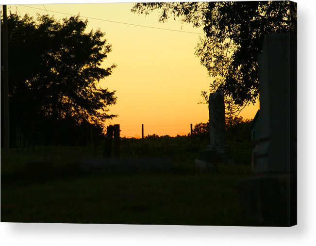 Sun Acrylic Print featuring the photograph Unsettling Sun by Carl Perry