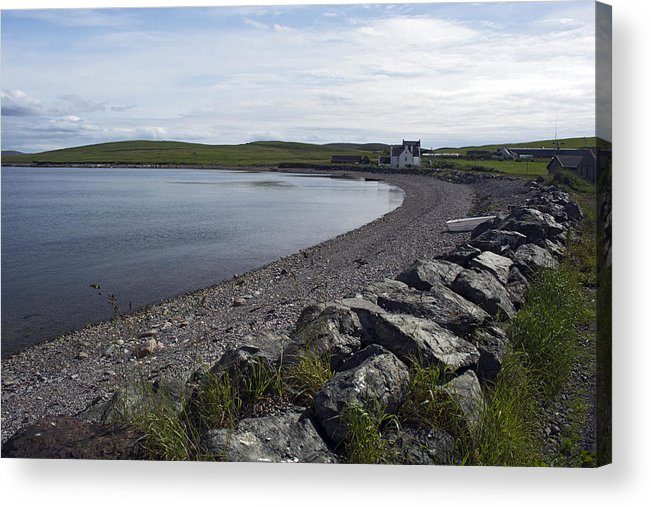 Sea Acrylic Print featuring the photograph Ura Firth 2 by Steve Watson
