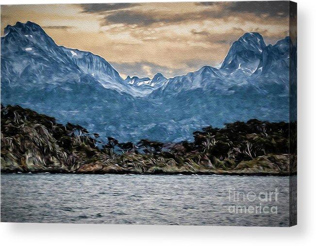 Ushuaia Acrylic Print featuring the photograph Ushuaia Ar 9 by Stefan H Unger