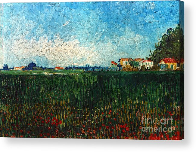 1888 Acrylic Print featuring the photograph Van Gogh: Landscape, 1888 by Granger