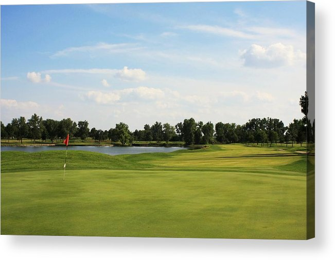 Golf Acrylic Print featuring the photograph Village Greens Golf Course Hole 17 by Jim Darnall