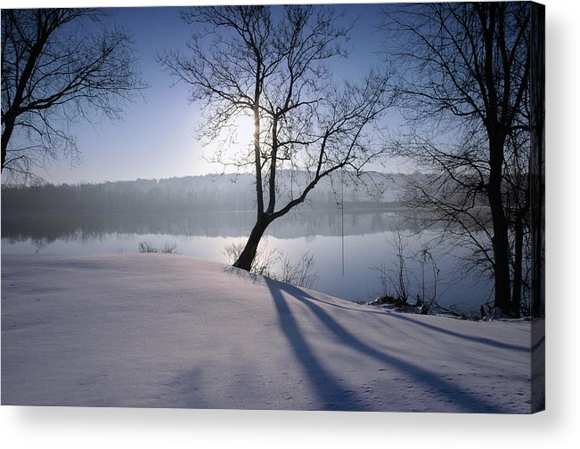 Winter Acrylic Print featuring the photograph Waiting For Summer by Ross Powell
