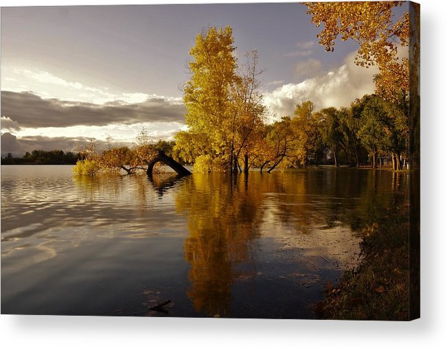 Water Acrylic Print featuring the photograph Wall Approved by Erik Williams
