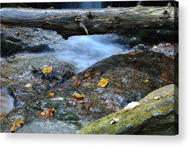 Water Falls Acrylic Print featuring the photograph Water Falls by Todd Hostetter