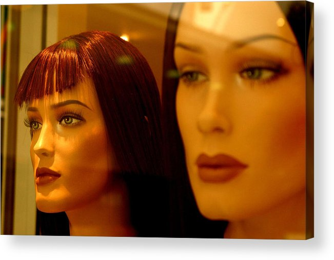 Jez C Self Acrylic Print featuring the photograph We Can Hear You by Jez C Self