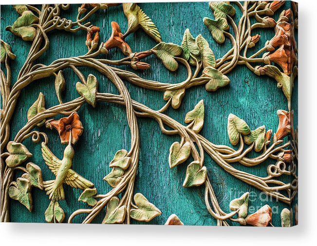 Wall Art Acrylic Print featuring the photograph Weathered Wall Art by Deborah Brown