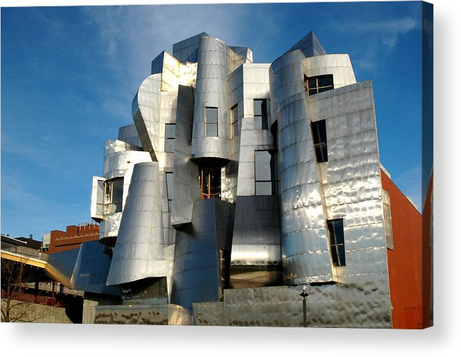 Museum Acrylic Print featuring the photograph Weisman Art Museum by Kathy Schumann